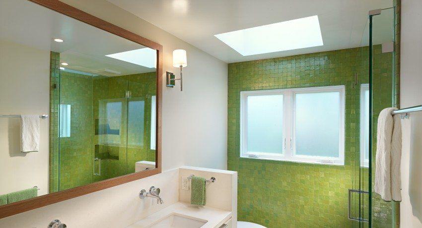 Techo tensado en el baño, fotos de soluciones de diseño ...